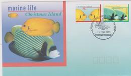 Christmas Island 1995 Fish FDC - Christmas Island