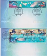 Christmas Island 1998 Marine Life  FDC - Christmas Island