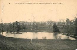 Kq03413 Chatillon En Vendelais Chateau De Villanfray Parc Et Etang Chatillon En - Unclassified