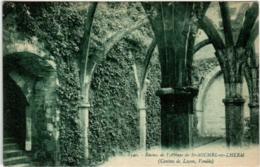 31pi 66 CPA - RUINES DE L'ABBAYE SAINT MICHEL EN LHERM - Saint Michel En L'Herm