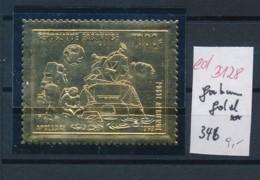 Gabun  Nr. 346   ** Goldfolie   (ed3128  ) Siehe Scan - Gabun (1960-...)
