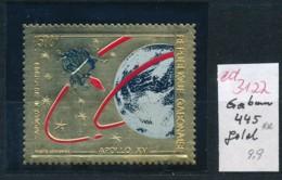 Gabun  Nr. 445   ** Goldfolie   (ed3122  ) Siehe Scan - Gabun (1960-...)