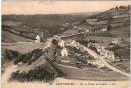 31pm 138 CPA - SAINT BRIEUC - VERS LE VIADUC DE SOUZAIN - Saint-Brieuc