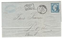 14763 - VINS&SPRITUEUX - Storia Postale