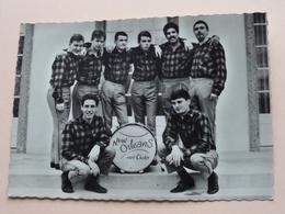 NEW ORLEANS Hot Club ( Photo Frido Sierre ) Anno 195? ( Zie Foto's ) ! - Zangers En Musicus