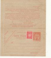N°2607 CLPP NEUF - Postal Stamped Stationery