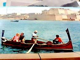 MALTA  THE DGHAJSA WATER TAXI  E HISTORIC  FORT ST ANGELO  N1975 HA8256 - Malta