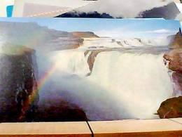 ISLANDA ICELAND GULLFOSS  WATWERFALL  N1970 HA8260 - Islanda