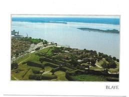Blaye La Citadelle Vauban, Fort Pate Situé Sur L' Ile Et Au Fond, L' Ile Verte - Blaye