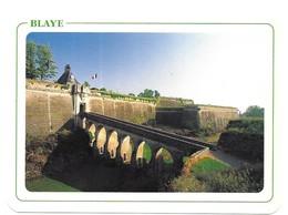 Blaye La Citadelle Porte Dauphine Tour L' Horloge Photo R. Rosenthal - Blaye