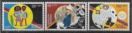 1991 ANTILLES NEERLANDAISES 898-900 ** Instruments De Musique, Cartes à Jouer, Dominos - Antilles