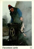 44 - HERBIGNAC - Jacques Leroux Plume Un Poulet Au Village De L'Ongle - L'aventure Carto 1 - Herbignac