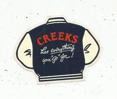 Autocollant , CREEKS Has Everything You Go For ! Vêtements De Sport - Pegatinas