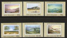 NEW ZEALAND, 1988 HERITAGE-THE LAND 6 MNH - New Zealand