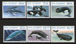 NEW ZEALAND, 1988 WHALES 6 MNH - New Zealand