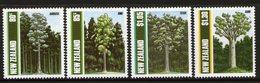 NEW ZEALAND, 1989 TREES 4 MNH - New Zealand