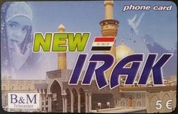 Prepaidcard Deutschland  - B&M Telecenter - New Irak -  5 € - Deutschland