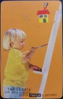 Telefonkarte Bosnien - Herzegowina - Zeichnen - Kind - Bosnia