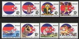 NEW ZEALAND, 1989 C/WEALTH GAMES 8 MNH - New Zealand
