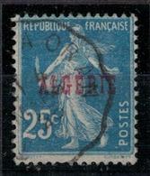 ALGERIE    N°  YVERT     14  ( Flambeau à La Main Gauche ) OBLITERE       ( O   3/18 ) - Algérie (1924-1962)