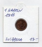 Svizzera - 1918 - 1 Rappen - Vedi Foto - (MW2074) - Svizzera