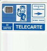 French Polynesia - Tiki Blue - FP003B - French Polynesia