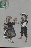 JEUX ENFANT BALLON PUBLICITE - Cartes Postales