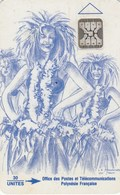 French Polynesia - Vahiné Blue - FP010 - French Polynesia