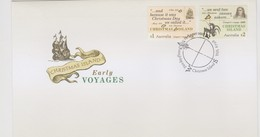 Christmas Island 2017 Early Voyages FDC,A - Christmas Island