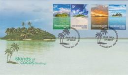 Cocos (Keeling) Islands 2015 Islands Of Cocos, FDC,A - Cocos (Keeling) Islands