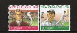 NEW ZEALAND, 1992 HEALTH 2 MNH - New Zealand