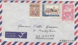 COVER PERU  TO FRANCE - Francobolli