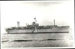 Photo Cp Dampfer Cartel Verde, Ex. Wooster Victory - Ships