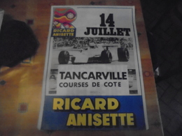 Affiche Course De Cote De Tancarville - Affiches