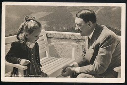 Foto AK/CP Obersalzberg  Hitler  Propaganda  Nazi  Gel/circ.1943  Erhaltung/Cond. 2-  Nr. 00601 - Oorlog 1939-45