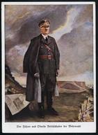 AK/CP   Hitler  Propaganda  Nazi  Ungel/uncirc.1933 - 45  Erhaltung/Cond. 2  Nr. 00603 - Guerra 1939-45