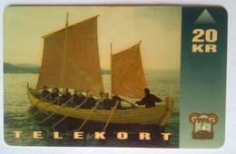 20 Kroner Boat - Faroe Islands