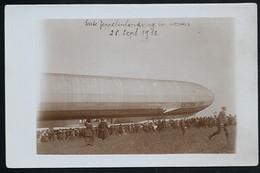 Foto AK/CP  Zeppelin Luftschiff Victoria Luise In Worms  Ungel/uncirc.1913  Erhaltung/Cond. 2  Nr. 00610 - Airships
