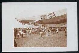 Foto AK/CP  Zeppelin Luftschiff Victoria Luise In Worms  Ungel/uncirc.1913  Erhaltung/Cond. 2  Nr. 00611 - Airships