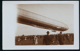 Foto AK/CP  Zeppelin Luftschiff Victoria Luise In Worms  Ungel/uncirc.1913  Erhaltung/Cond. 2  Nr. 00613 - Airships