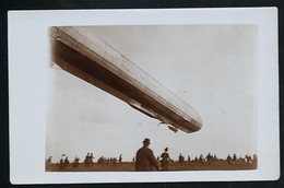 Foto AK/CP  Zeppelin Luftschiff Victoria Luise In Worms  Ungel/uncirc.1913  Erhaltung/Cond. 2  Nr. 00614 - Airships