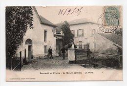 - CPA BONNEUIL EN FRANCE (95) - Le Moulin (entrée) - Le Pont 1905 - Photo A. Breger - - France