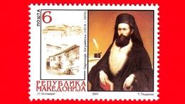 Nuovo - MNH - MACEDONIA -  2001 - 125 Anni Della Morte Di Partenija Zografski, Autore - 6 - Macedonia