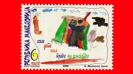 Nuovo - MNH - MACEDONIA -   2002 - Giornata Dei Bambini - Disegno - 6 - Macedonia