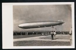 Foto AK/CP  Graf Zeppelin Luftschiff  LZ 127   Landung    Ungel/uncirc.1930er  Erhaltung/Cond. 2  Nr. 00617 - Zeppeline