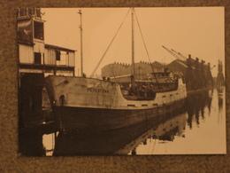 PETERTOWN IN CARDIFF 1956 - MODERN - Cargos