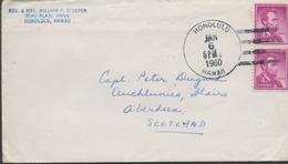 3380  Carta Honolulu 1960, Hawall - Hawaï