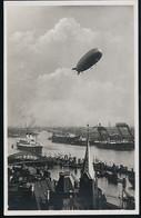 Foto AK/CP  Graf Zeppelin Luftschiff  LZ 127    Hamburg   Ungel/uncirc.1930er  Erhaltung/Cond. 1  Nr. 00622 - Dirigeables