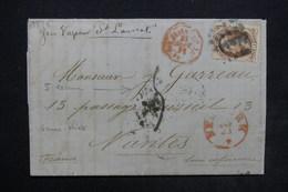 ETATS UNIS - Lettre De New York Pour La France En 1871 , Affranchissement Plaisant - L 24262 - 1847-99 General Issues