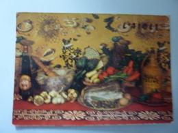 "Cartolina Viaggiata Francese ""L 'AIOLI"" 1985 - Ricette Di Cucina"